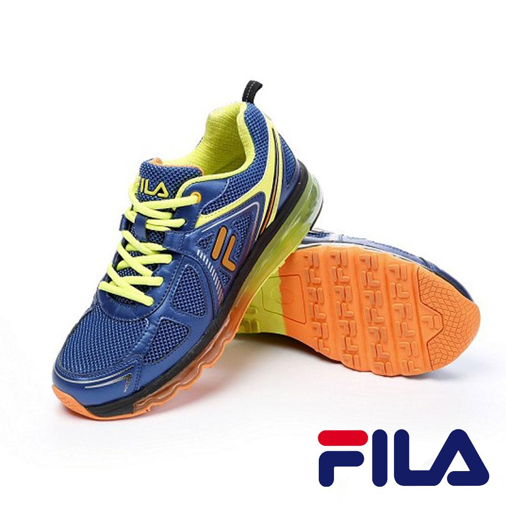 FILA 男款機能全氣墊慢跑鞋 J925P-366 0