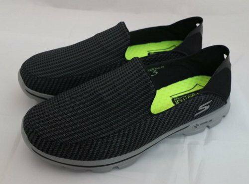 SKECHERS 男 健走系列 GO Walk 3 走路鞋 休閒鞋 健走鞋 - 54043CCBK US11=29cm [陽光樂活]