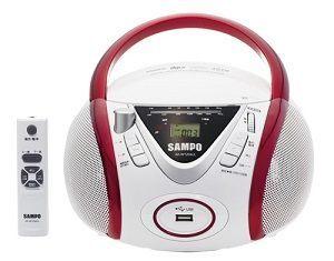【威利家電】聲寶手提CD/MP3/USB音響 AK-W1204UL