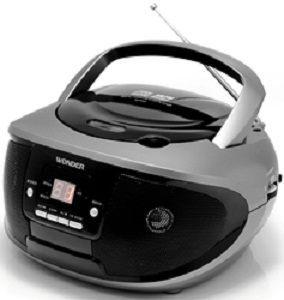 【威利家電】【分期0利率+免運】旺德手提CD音響 WD-9203