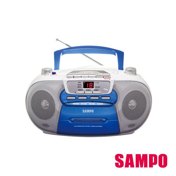 【威利家電】【刷卡分期零利率+免運費】聲寶手提CD收錄音機 AK-W1201TL