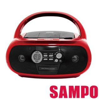 【威利家電】【刷卡分期零利率+免運費】聲寶 手提CD音響 AK-W1202L