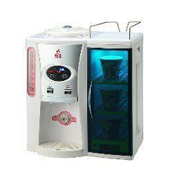 【威利家電】勳風保持潔紫外線溫熱烘杯開飲機 HF-5182/HF5182 唯一獨創附有紫外線殺菌烘杯箱