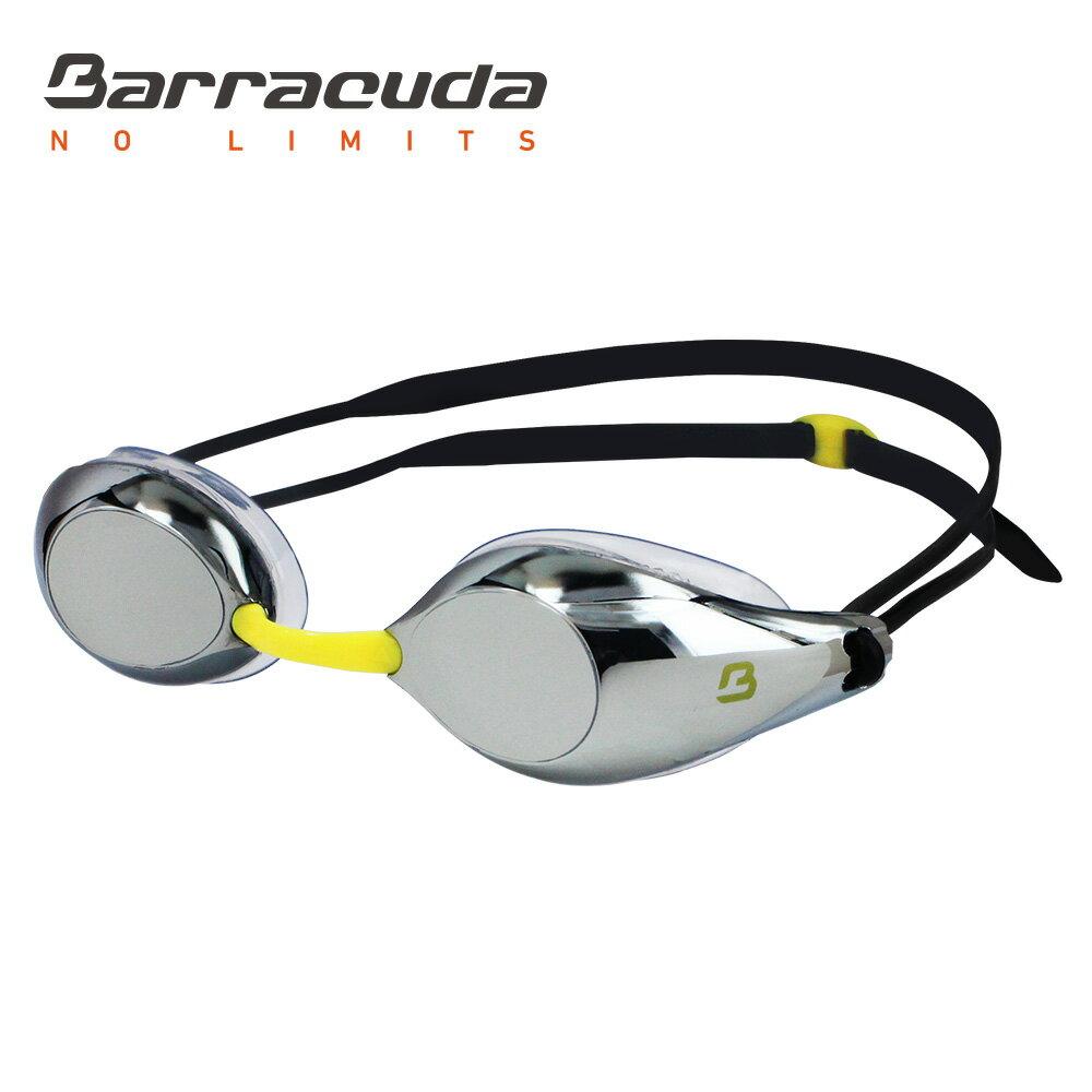 美國巴洛酷達Barracuda成人競技電鍍防霧泳鏡-LIQUID WAVE-#91510 1