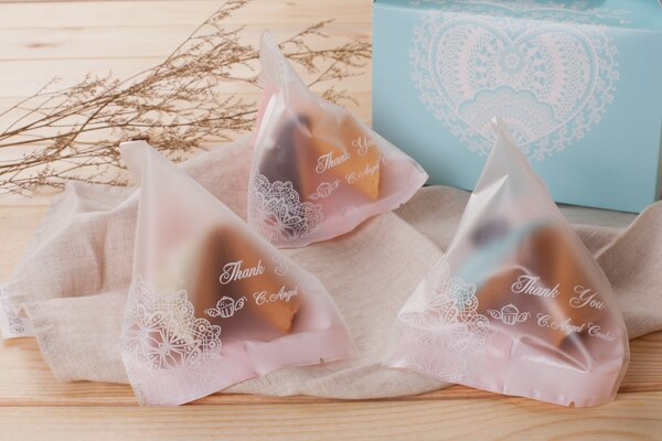 C.Angel 【原味幸運籤餅】手工製做 不含防腐劑 婚禮小物 客製化您想說的話語 婚禮超夯 1