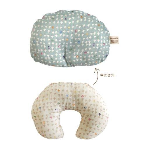 Hoppetta - 蘑菇多功能嬰兒枕 (水藍) 8