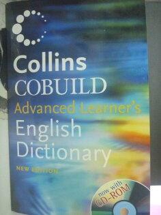 【書寶二手書T1/字典_ZHZ】Collins Cobuild Advanced Learner`s English_附光碟