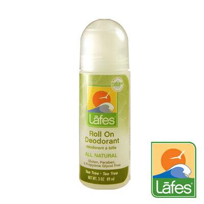 Lafe's 純自然體香劑 茶樹潔淨 89ml 公司貨 *夏日微風*