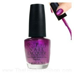 OPI O.P.I 亮彩系列指甲油 B55 Plugged-in Plum 15ml *夏日微風*