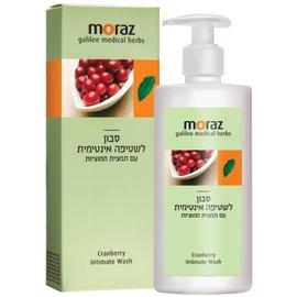 【贈市價$580護手霜】以色列【Moraz 茉娜姿】蔓越莓私密潔護露250ML 1