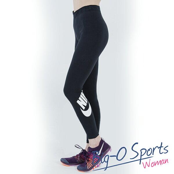 NIKE 耐吉  NIKE LEG-A-SEE LOGO  有氧訓練緊身長褲  女 806928010 Big-O SPORTS