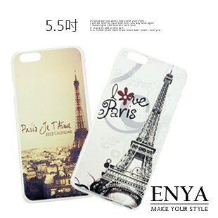 iPhone6/6S Plus 5.5吋 倫敦系列手機保護硬殼 (郵局免運) Enya恩雅