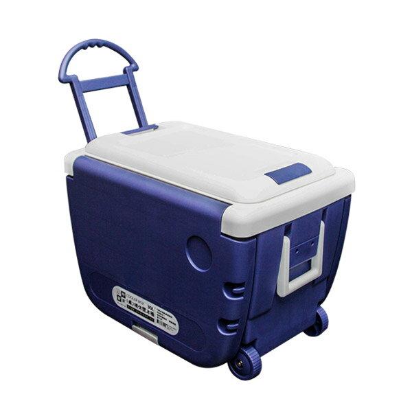 妙管家 1桌2椅休閒冰桶30L /拖輪式冷藏箱/攜帶式冰桶/冰箱/保冷 - 限時優惠好康折扣