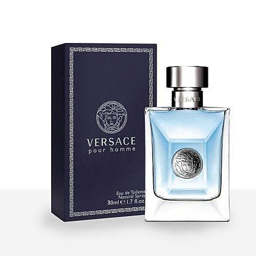 《香水樂園》VERSACE 凡賽斯 Pour Homme 經典男性 淡香水 30ML 另有 50ML 100ML