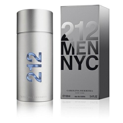 《香水樂園》Carolina Herrera 212 MEN 都會男性淡香水 50ml 另有100ml 可超商取貨付款