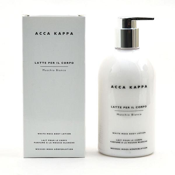 《香水樂園》Acca Kappa 白麝香身體乳 Muschio Bianco 300ml