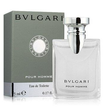 《香水樂園》  BVLGARI Pour Homme 寶格麗經典大吉嶺茶中性淡香水迷你小香 5ml可超商取貨付款