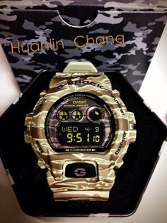 《香水樂園》台灣公司貨 CASIO G-SHOCK GD-X6900CM-5A 潮流不敗虎紋迷彩極為限量雙顯錶-大地棕