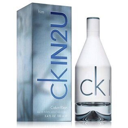 《香水樂園》 Calvin Klein ck IN2U for him 男性淡香水 50ml 另有100ml 可超商取貨付款