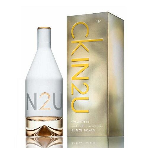 《香水樂園》 Calvin Klein ck IN2U for her 女性淡香水 香水空瓶分裝 5ml