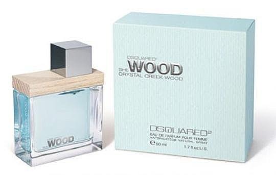 《香水樂園》DSQUARED She Wood crystal creek wood水晶溪流女性淡香精 香水空瓶分裝 5ml
