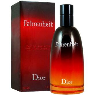 《香水樂園》Dior Fahrenheit 華氏溫度男性淡香水 50ml 另有100ml 可超商取貨付款
