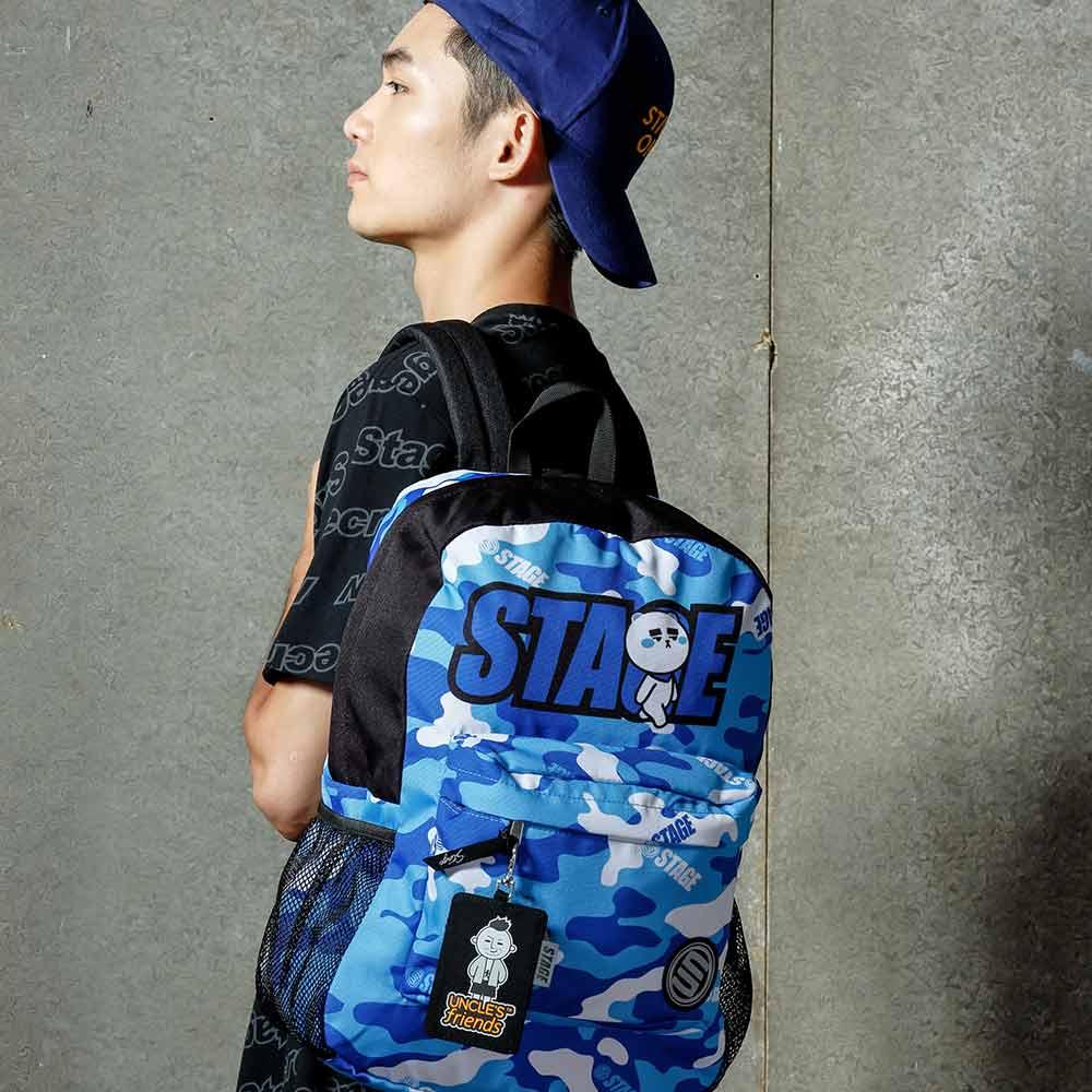 STAGE BAG × UNCLES FRIENDS CAPRICORN BACKPACK 藍色 摩羯座 1