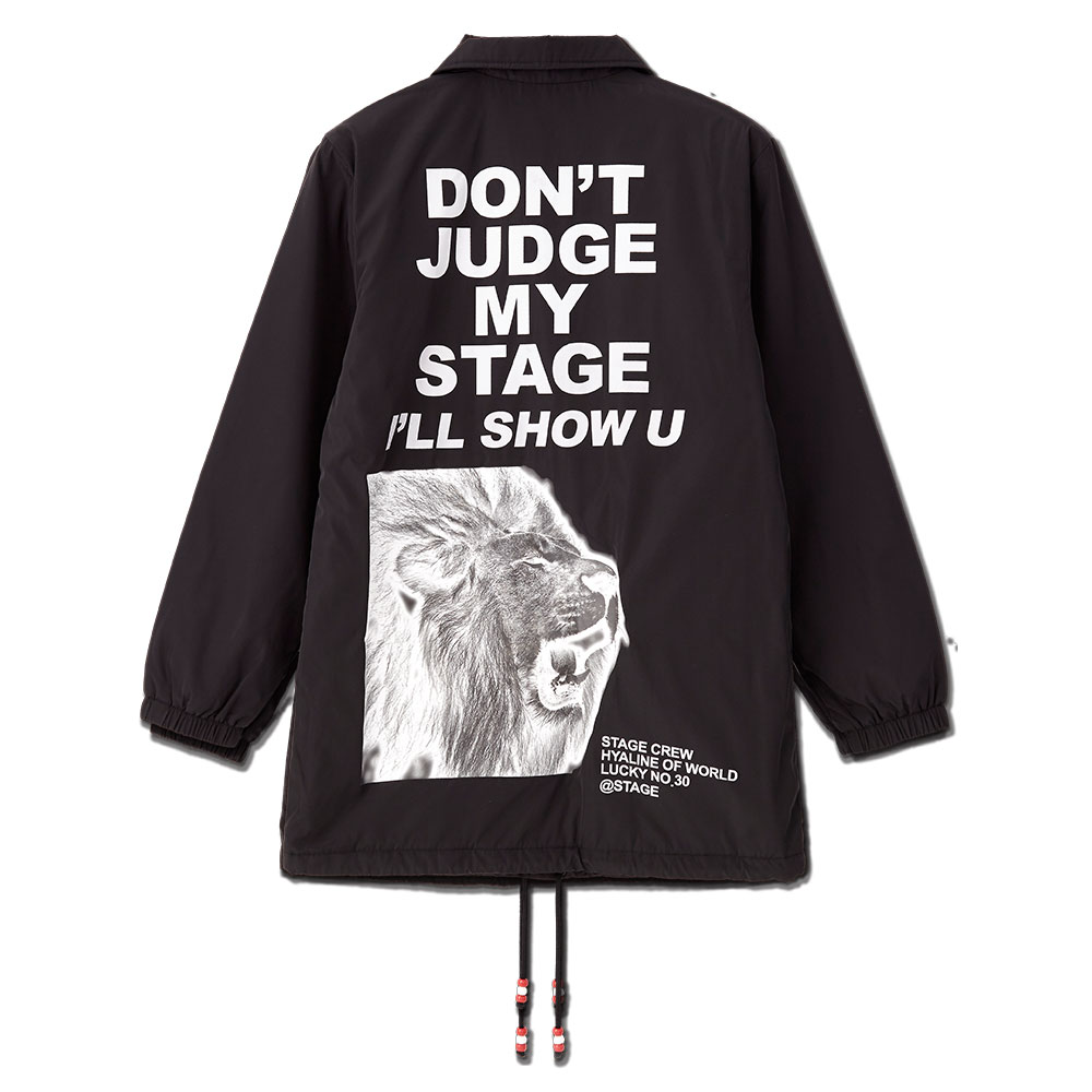 STAGE DJMS COACH JACKET 黑色 1