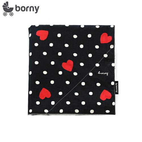 韓國【 Borny 】四季雙面豆豆毯(黑底愛心) - 限時優惠好康折扣