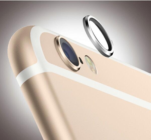 鋁合金鏡頭保護套 iPhone 6 / 6 Plus 金屬圈 鏡頭圈 鏡頭保護框 避免刮傷 保護鏡頭 攝戒【B089105】