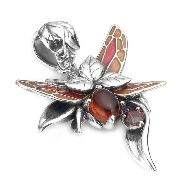【現貨商品】【Bloody Mary】Phii妖精 -Buzz- 純銀墜飾(BMP1338-2-RambRg  0813530000) 2