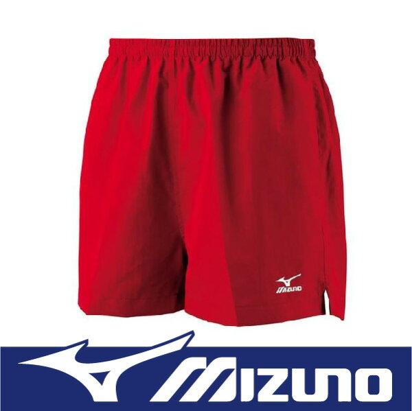 【特價7折!】萬特戶外運動 MIZUNO 美津濃 J2TB4A5463 男路跑褲 舒適 背部口袋設計 暗紅色