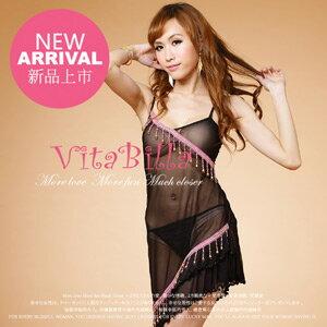 【伊莉婷】VitaBilla 愛在佛朗明哥 睡裙+小褲 二件組 A005820642 0