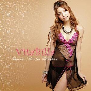 【伊莉婷】VitaBilla 香氛魅力 LUCKMATE 永恆戀曲 睡裙+小褲 二件組 G007820003 0