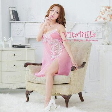 【伊莉婷】VitaBilla 粉黛之戀 衣裙+小褲 二件組 H001910704 0