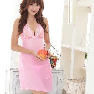 【伊莉婷】 淡柔飄香!飄逸雪紡二件式睡襯衣 NA09020117 0