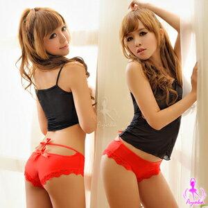 【伊莉婷】祕密花園!俏麗後臀內褲(紅) NA13010007-1 0