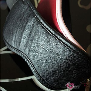 【伊莉婷】美國駭客 Toughage Soft Garment Leather Blindfold 軟皮眼罩 黑色 TO-E207