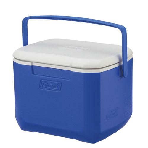 【露營趣】中和 Coleman CM-27859 15L Excursion 海洋藍冰箱 手提冰桶 露營冰桶 行動冰箱 野餐籃