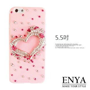 iPhone6 6S Plus 5.5吋 愛情來敲門手機殼 ^( ^) Enya恩雅 ~