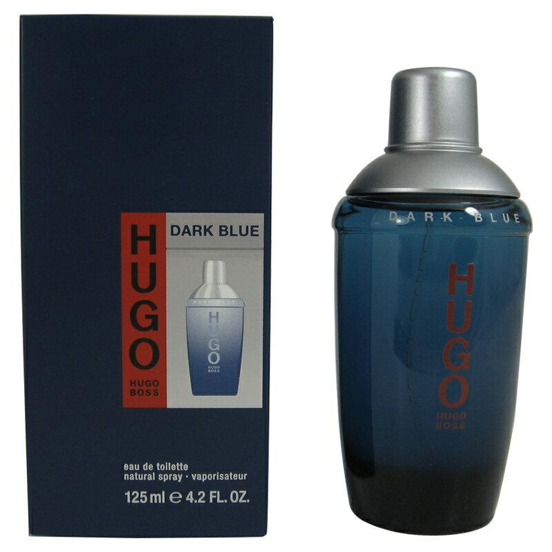 Hugo dark blue eau de toilette spray 125ml - hugo boss 0