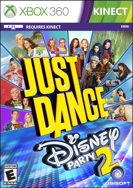 xbox 360 舞力全开:迪士尼派对2 -英文版- just dance disney party 2图片