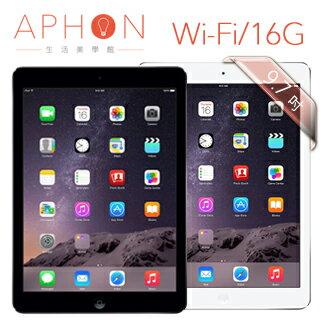 【限量豪華組合】Apple iPad Air Wi-Fi 16GB 9.7吋 平板電腦(送18000行動電源+螢幕保護貼+皮套)