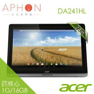 【全家人的觸控大螢幕】acer DA241HL 24吋 智慧型 觸控 四核心 平板 All In One電腦