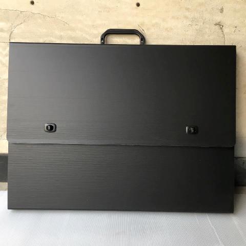 防水輕量型畫袋(黑)
