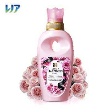 【日本P&G】粉紅玫瑰柔軟精-600ml (配合芳香粒可產生更多香氣) 柔軟劑以上,香水未滿的秘密 綾瀨遙 代言