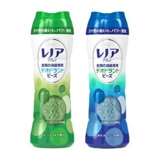 【日本P&G】 快樂寶石衣物香氛劑 (香香豆) 全新香味 男士 清新涼爽/綠色薄荷-375g 除臭 芳香 搭配柔軟精使用