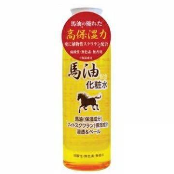 【JUN-COSMETIC】日本原裝 馬油化妝水 200ml / 純藥株式會社 天然保濕 修復 無色素 弱酸性