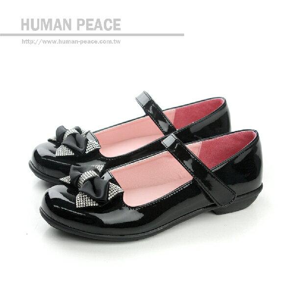 小女生鞋 娃娃鞋 黑 童 no114