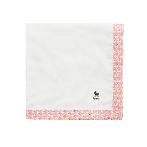 韓國【 Borny 】多功能透氣純棉紗巾(水粉色) - 限時優惠好康折扣